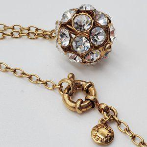 J. Crew Rhinestone Sphere Necklace